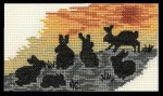 [Silhouette of rabbits]